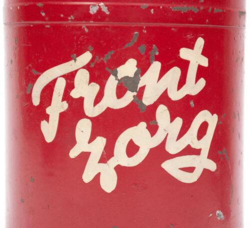 (NSB) Frontzorg collecting tin