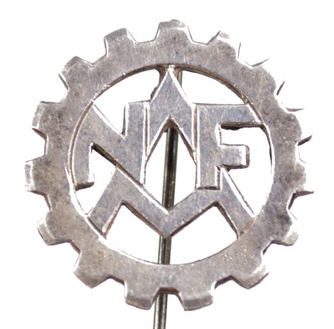 (NSB) Nederlandsche Arbeitsfront (NAF) First type memberbadge