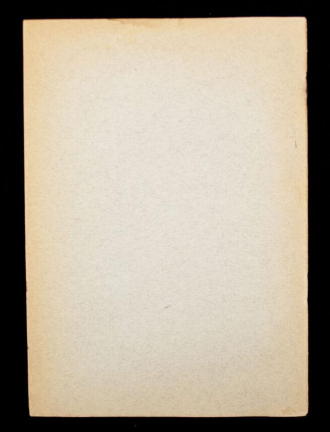 (NSB SS) Het Langemarck Studium in Nederland + Application form (1941)
