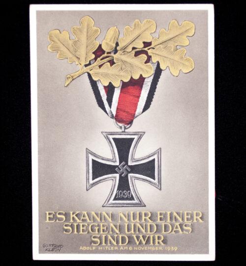 (Postcard) Iron Cross - Es kann nur einer siegen und das sind Wir