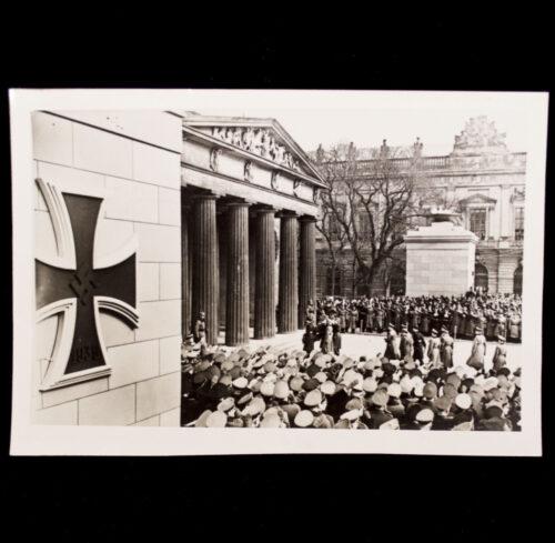(Pressphoto) Der Heldengedenktag 1942 in Berlin (with large EK1!)