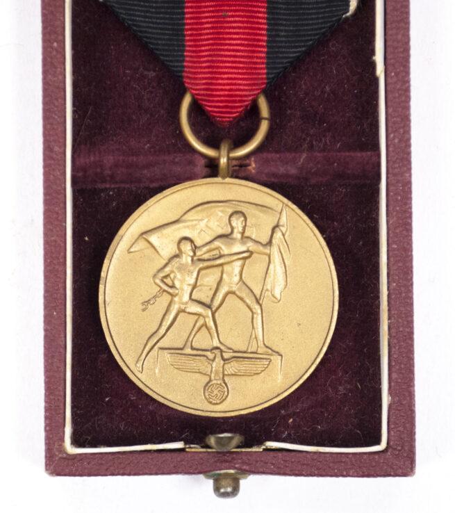 Reichsarbeitsdienst (RAD) Dienstauszeichnung für 4 Jahre + etui