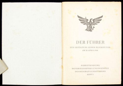 Schriftenreihe des Kriegsbetreuungsdienstes des Reichsjugendführers