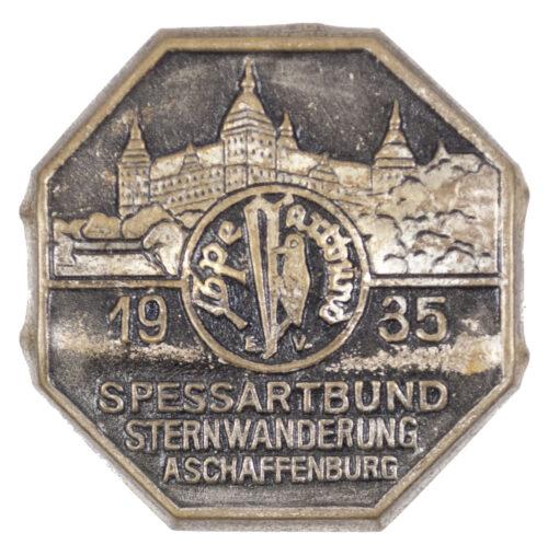 Spessartbund Sternwanderung Aschaffenburg 1935 abzeichen