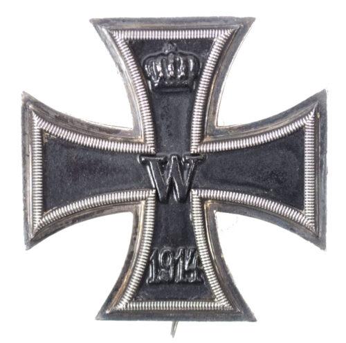 WWI Eisernes Kreuz Erste Klasse (EK1) Iron Cros second class (Maker SW)