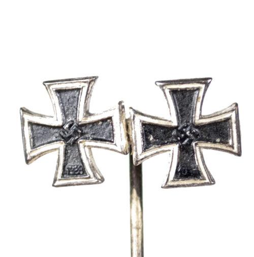 WWII German stickpin with EK1 and EK2