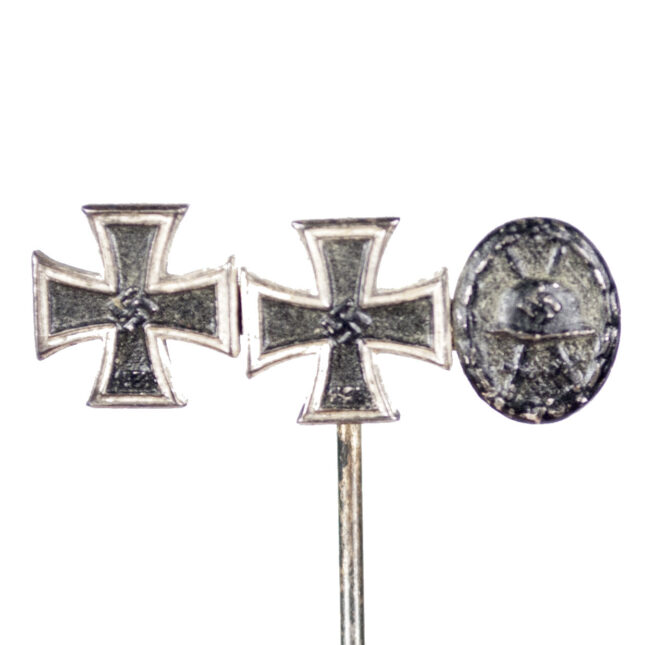 WWII German stickpin with EK1 and EK2 and VWA