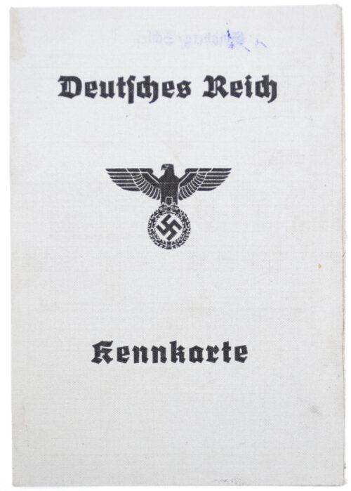 Arbeitsbuch second type from Arbeitsamt Goldberg + Kennkarte