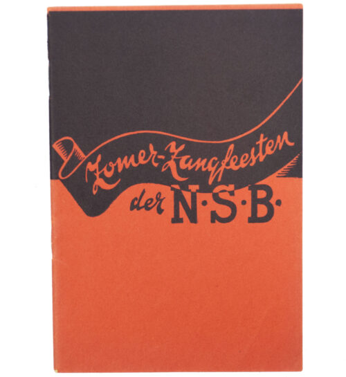 (Brochure NSB) Zomerzangfeesten der NSB (variation 1) (1943)