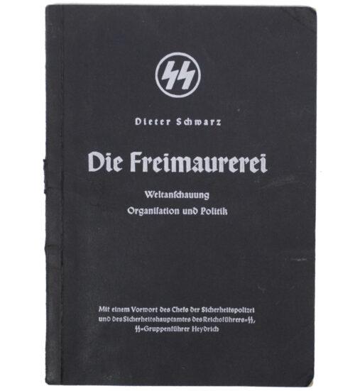 (Brochure) SS - Dieter Schwarz - Die Freimaurerei (1938)