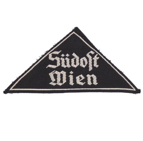 Bund Deutsche Mädel (BDM) Gebietsdreieck Südost Wien with RZM label