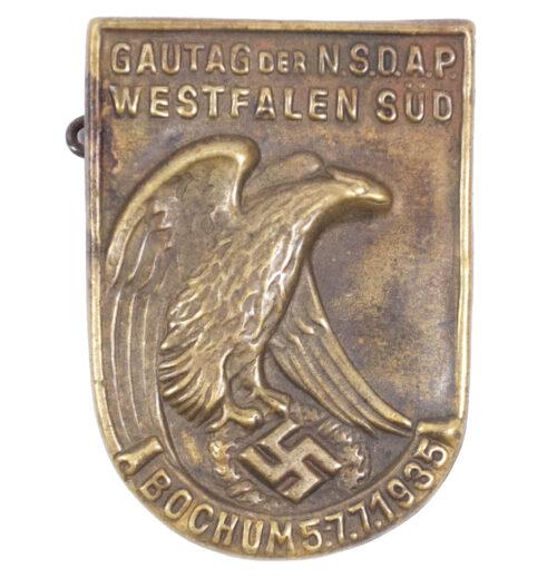 Gautag der NSDAP Westfalen Süd Bochum 5.-7.7.1935 abzeichen