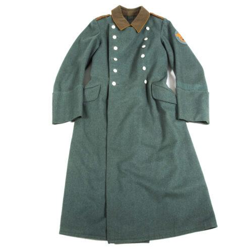 German WWII Police Feldgendarmerie Long Coat (mantel)