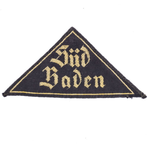 HItlerjugend (HJ) Gebietsdreieck Süd Baden
