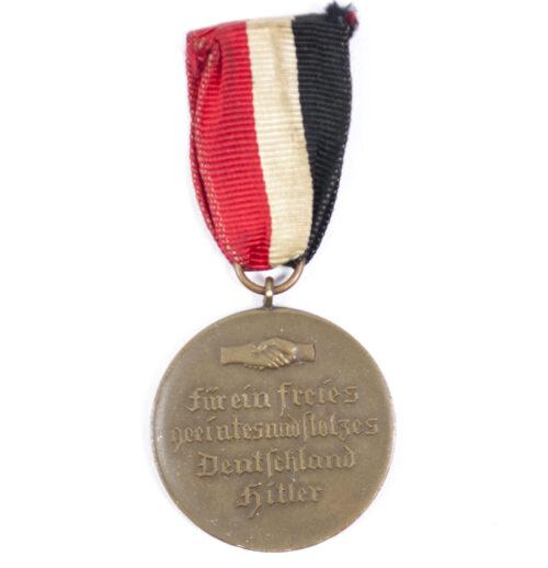 Hindenburg-Hitler medaille - Für ein Freies, geeintes und stolzes Deutschland (1933)