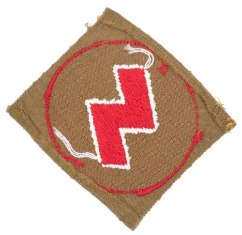 Hitlerjugend Deutsche Jugend (DJ) Rune sleeve badge
