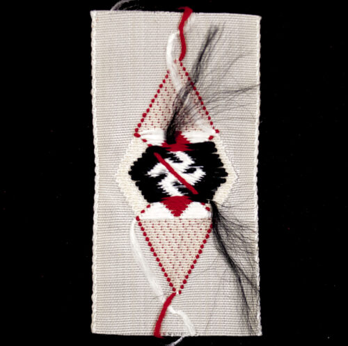 Hitlerjugend (HJ) Schiffchen cloth diamond