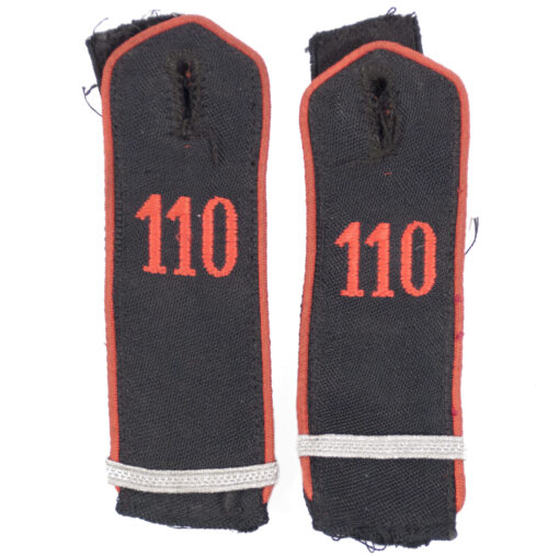 Hitlerjugend (HJ) Shoulderboards Bann 110