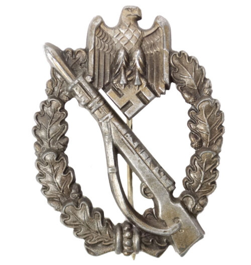 Infanterie-Sturmabzeichen-ISA-Infantry-Assault-Badge-IAB-in-bronze-by-Maker-Sohni-Heubach
