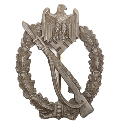 Infanterie Sturmabzeichen (ISA) Infantry Assault Badge (IAB) in bronze by maker Rettenmaier