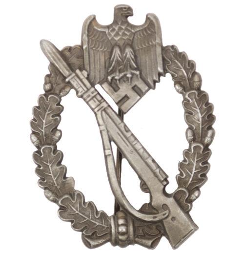 Infanterie Sturmabzeichen (ISA) Infantry Assault Badge (IAB) in bronze by maker Steinhauer & Lück