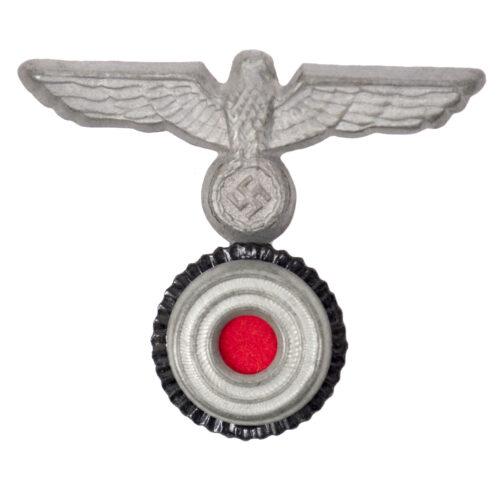 Kriegsmarine (km) Tellermütze Adler + Cockarde