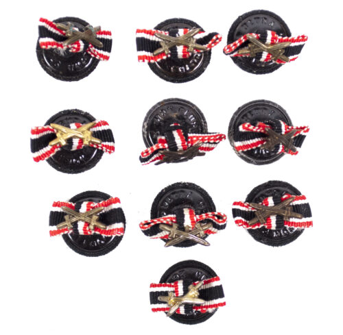 Kriegsverdienstkreuz Knopfloch feldspange War Merit Cross button hole ribbon