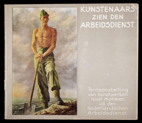 (NAD Brochure) Kunstenaars zien den Arbeidsdienst (1943)