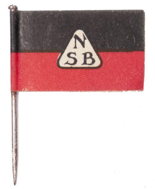 (NSB) 9 Jarig Bestaan dagspeldje NSB 9 Years Existence Flag daybadge