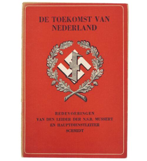 (NSB brochure) De toekomst van Nederland (1942)