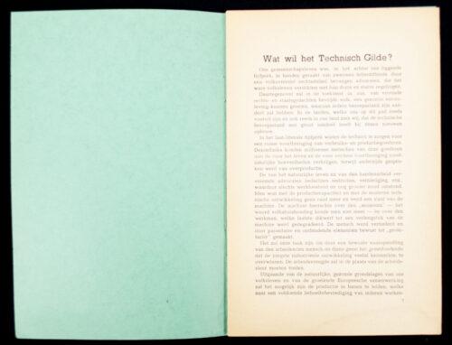 (NSB brochure) Herweyer - Wat wil het Technisch Gilde (1941)