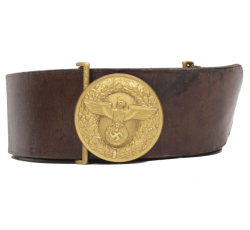 NSDAP-Leaders-belt-and-buckle-maker-marked-RZM-M472