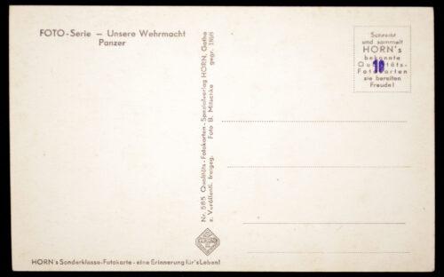 (Postcard) Unsere Wehrmacht - Panzer