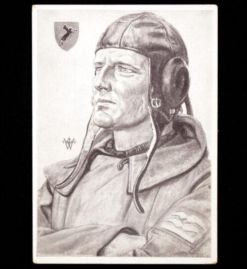 (Postcard) Willrich - Norwegen Kämpfer - Ein Erfolgreicher Sturzkampf Flugzeugführer