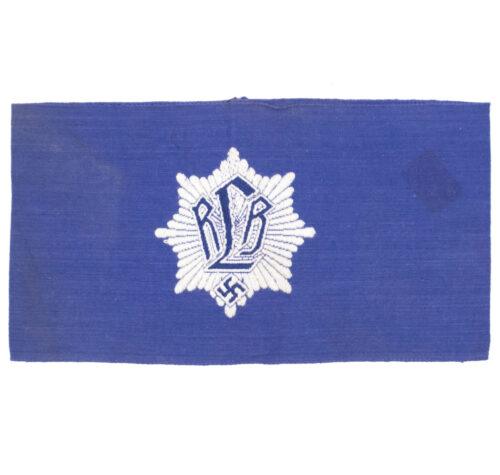 Reichsluftschutzbund (RLB) armband (Bevo Ges Gesch marked)