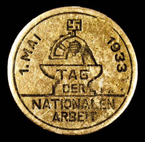 Tag der Nationalen Arbeit 1933 abzeichen