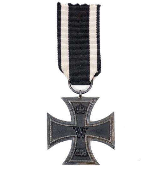 """WWI Eisernes Kreuz zweite Klasse (EK2) Iron Cross second class MM """"Wa"""""""