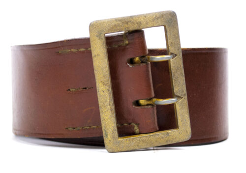 Wehrmacht (Heer) brown officers belt (Groupon 256)