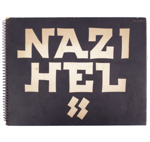 (Anti-nazi Book) Nazi Hel - Holocaust remembrance publication from immediatly after the war (1945)
