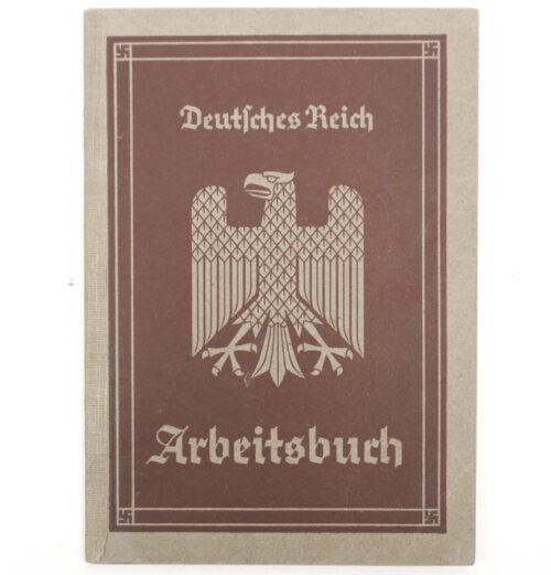 Arbeitsbuch first type from Arbeitsamt Freital 1935