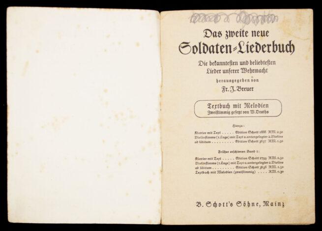 (Book) Das neue Soldatenliederbuch - Band II