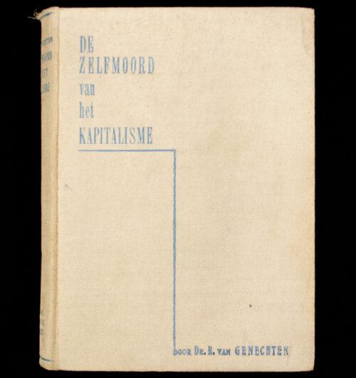 (Book NSB) R. van Genechten - De Zelfmoord van het kapitalisme