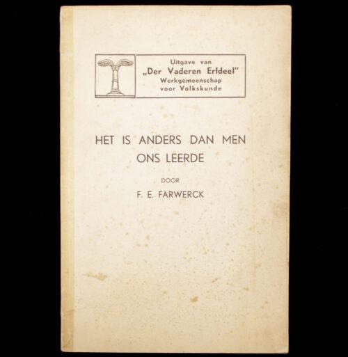 (Brochure NSB) Der Vaderen Erfdeel - Het is anders dan men ons leerde (1938)