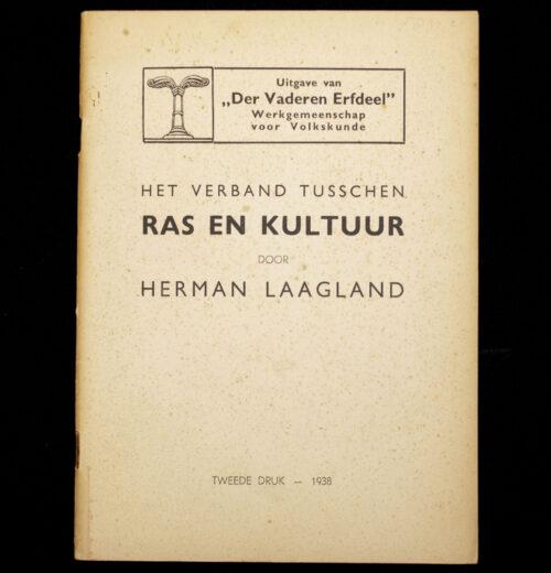 (Brochure NSB) Der Vaderen Erfdeel - Het verband tusschen ras en kultuur (1938)
