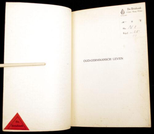 (Brochure NSB) Oud-Germaansch leven (1942)