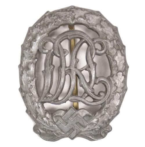 Deutsches Reichssportabzeichen (DRL) in silber (Maker Wernstein)