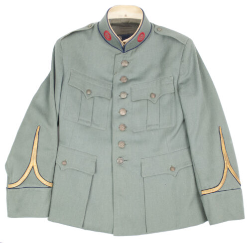 (Dutch Army before 1940) Tunic Wachtmeester Motordienst (Named!) 1939