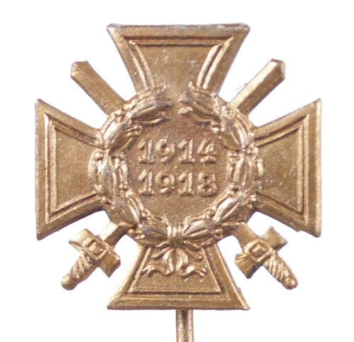 Ehrenkreuz für Nichtkämpfer miniature stickpin