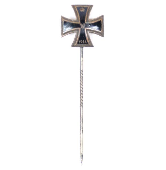 Eisernes Kreuz Iron Cross enamelled stickpin