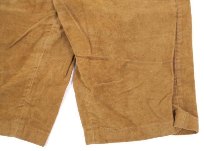 Hitlerjugend (HJ) brown trousers